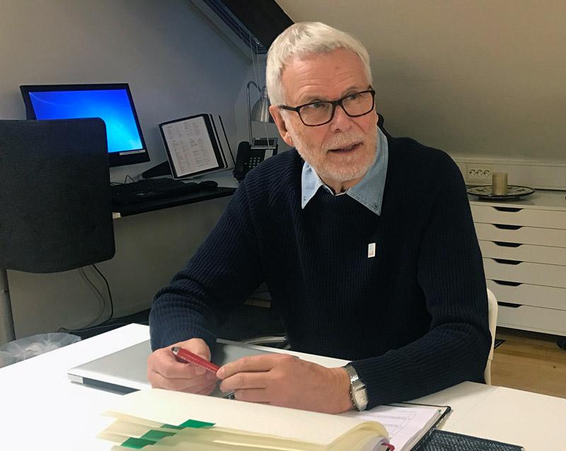 Gösta Eliasson, SPUR-inspektör hos Lipus. Foto: Anders Ferm