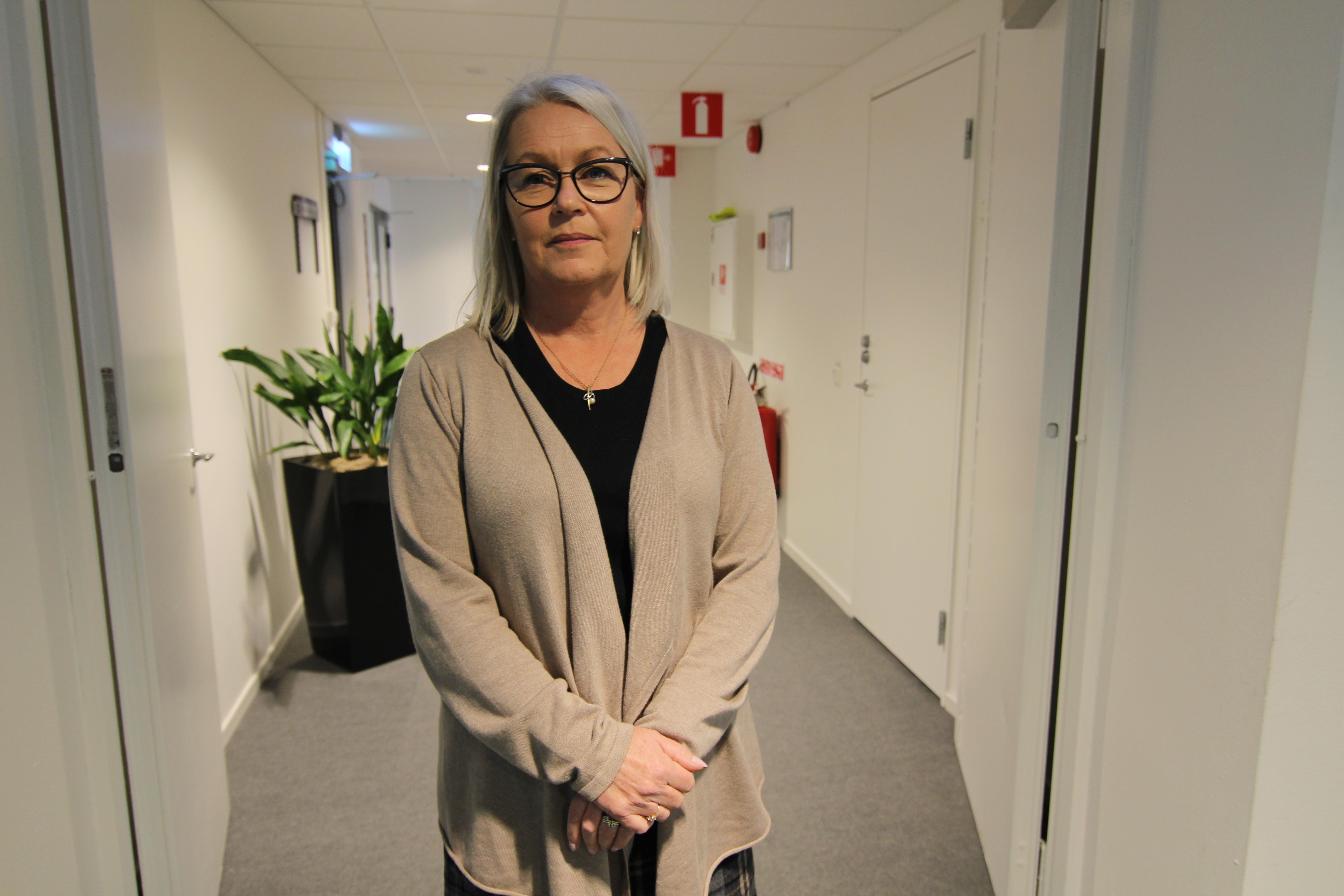 Pia Lundbom, förvaltningschef Skånevård Kryh.